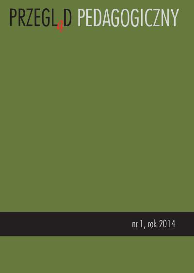 Przegląd Pedagogiczny  nr 1/2014