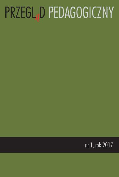 Przegląd Pedagogiczny nr 1/2017