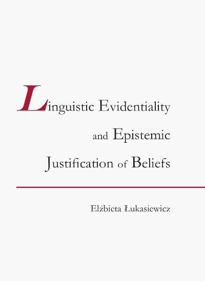 Linguistic Evidentiality and Epistemic Justification of Beliefs