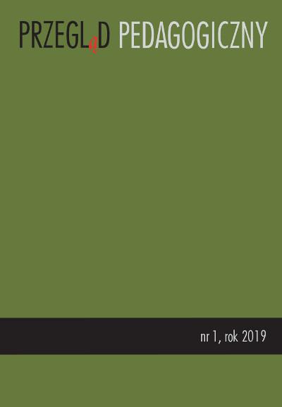 Przegląd Pedagogiczny nr 1/2019