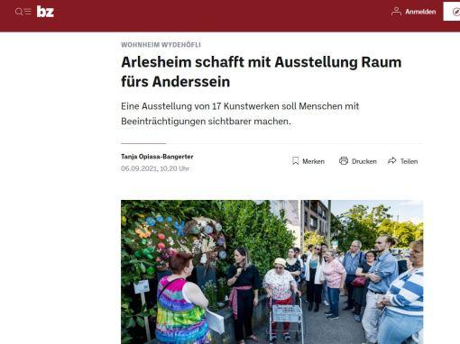 Inklusiv Arlesheim , BZ Basel Zeitung Wydehöfli