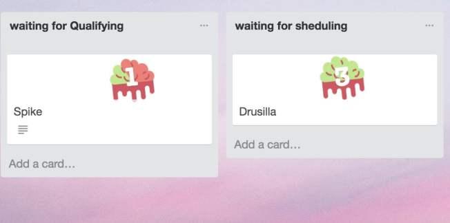 Zombie client trello stickers for sales cycles trello boards or idea validation trello boards