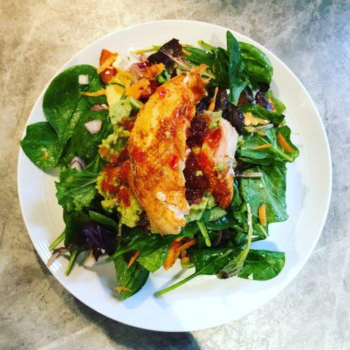 Nandos Chicken Salad