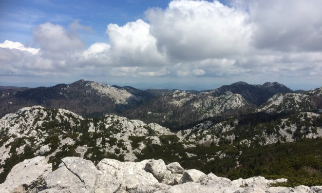 Section Hike the Via Dinarica