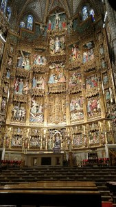 Altar of the Cathedral of Toledo