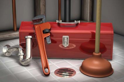 Bathroom faucet plumbing