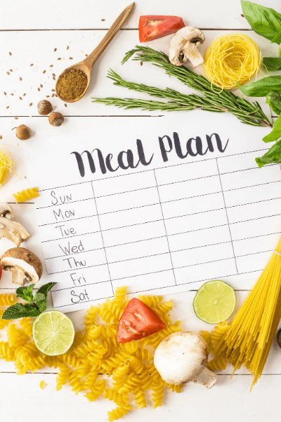 Quickest Meal Plan Ever