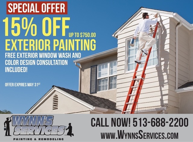 15% OFF Exterior Painting | Wynn's Services