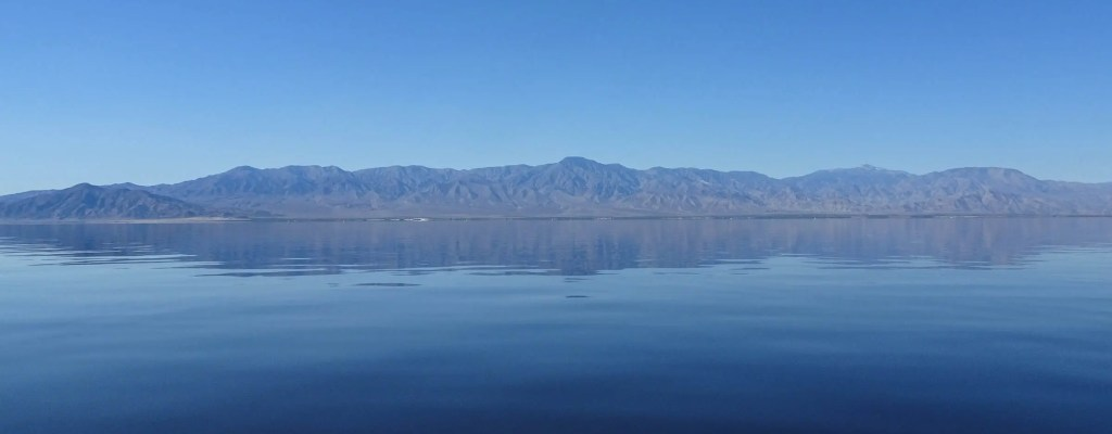 Kayaking on the Salton Sea