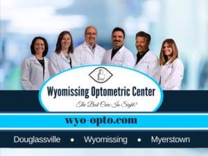 wyomissing optometric center eye