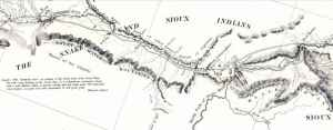 Pathfinder Renewable Wind Energy gets its name from John Fremont, who surveyed the Sweetwater Valley in 1842. (Courtesy USGS )