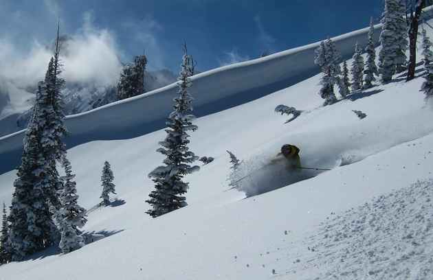 """Steve Romeo's motto was """"Live to Ski."""" He had a need to be in the mountains and on snow. He died in an avalanche in 2012. (courtesy TetonAT)"""