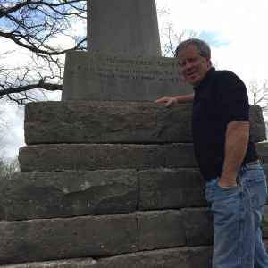 Most people know Lewis for his exploration of America's new territories in the Northwest from 1803 to 1806 with William Clark. Fewer know that he died only a few years later in the South. This monument marks his grave in Mississippi. (photo by Geoff O'Gara)
