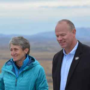 Interior Secretary Sally Jewell announced a moratorium of federal coal leasing while the department conducts a sweeping 3-year review of the program and the impacts of mining and burning federal coal. (U.S. Department of Interior)
