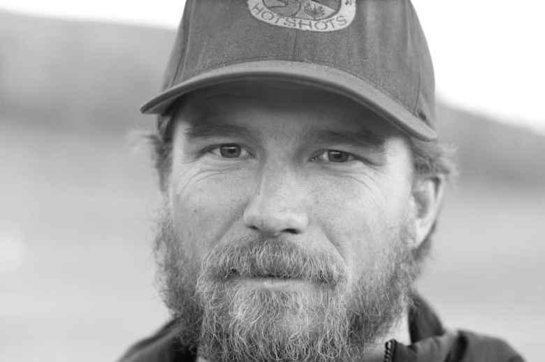 Andrew Vogl, Snake River Hotshots, Pocatello, Idaho. (Angus M. Thuermer Jr./Wyofile)