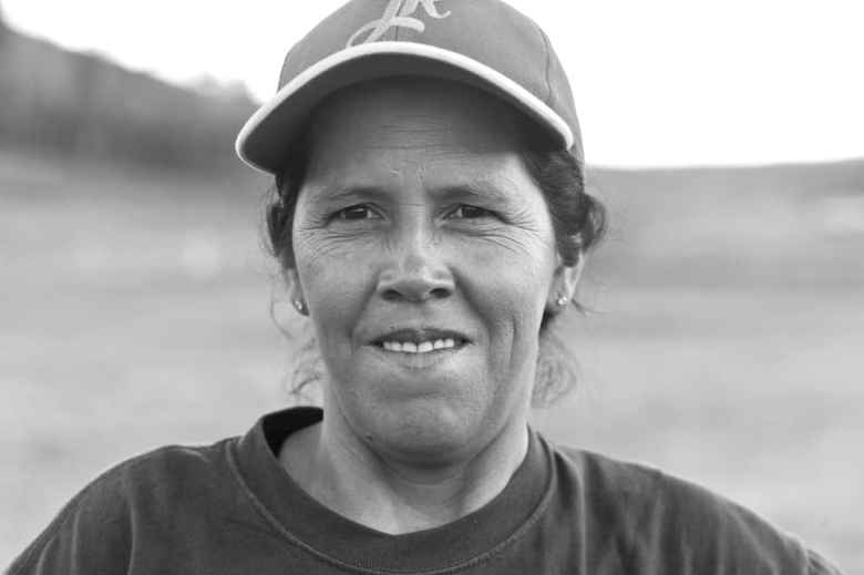 Maria E. Gallegos, Snake River Valley Firefighters, SRV 10, Vale, Oregon. (Angus M. Thuermer Jr./Wyofile)