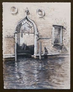 Travel Drawing: Venice, Italy by Doug Russell