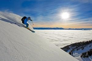Jackson skiing Wyoming