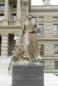 Esther Hobart Morris Wyoming