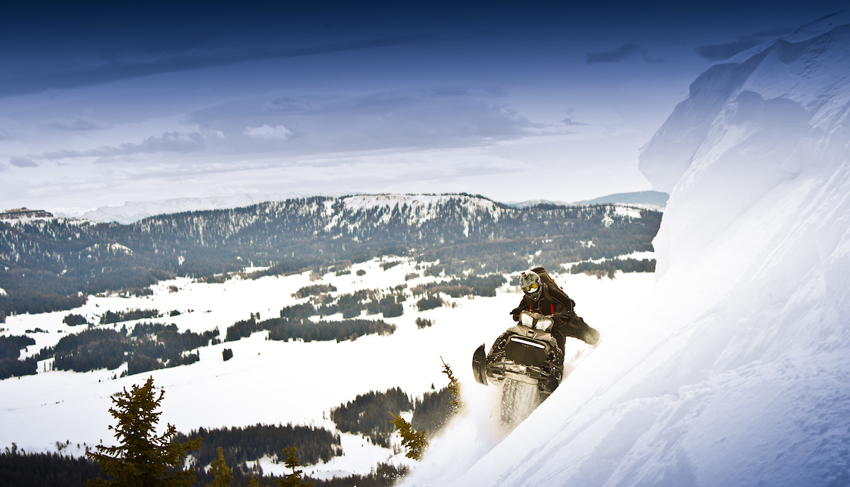 Snowmobiling Wyoming