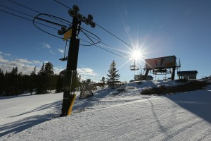 skiing Wyoming