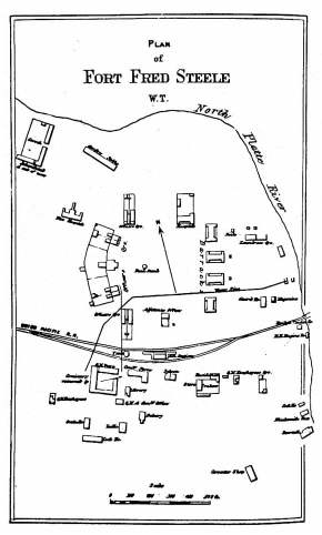 Fort Fred Steele Plan