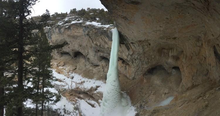 Tapout W6 in Canyon Creek near Ten Sleep Wyoming