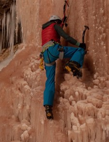 Wyoming Mountain Guides offers a full line of climbing harnesses for rent, with sizes ranging from full body kids harnesses to all sizes of adult harnesses.