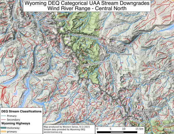 WInd River Range Central North