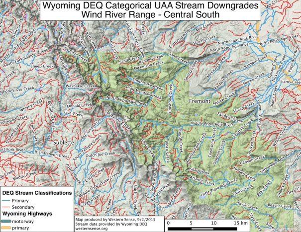 Wind River Range Central South