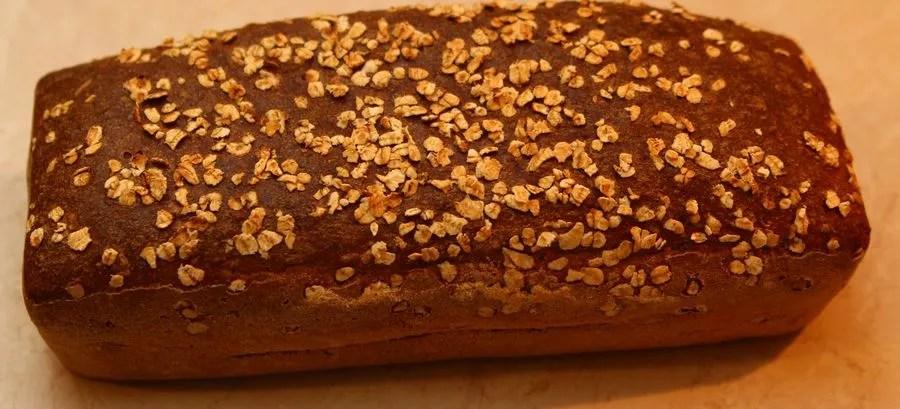 chleb upieczony w domu