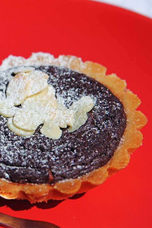 mini tarty czekoladowe