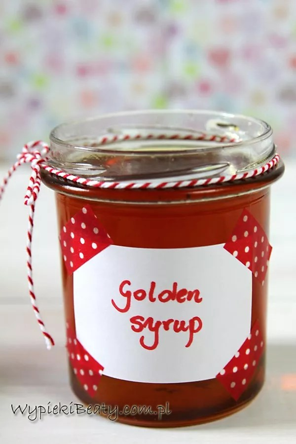 przepis na golden syrup