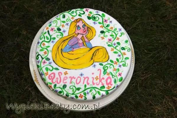 tort z roszpunka