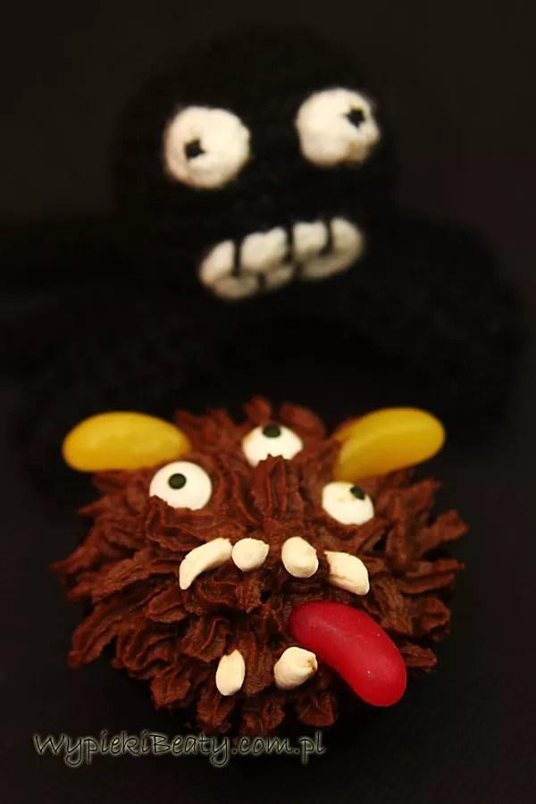 czekoladowe babeczki halloweenowe6