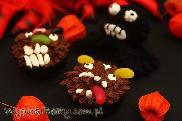 czekoladowe babeczki halloweenowe7