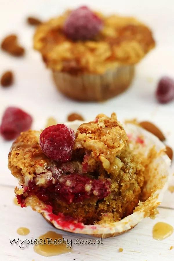 razowe muffinki z malinami4
