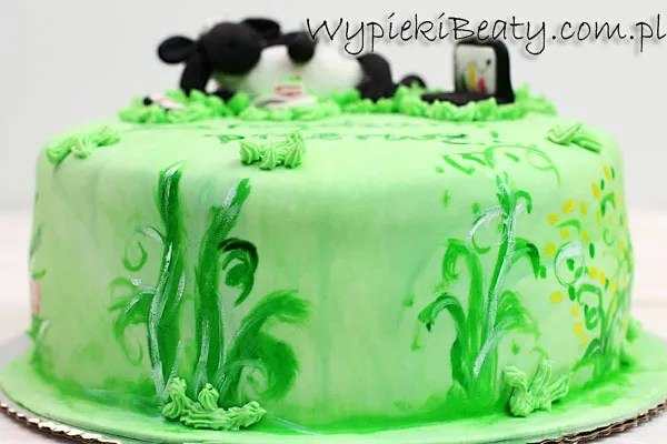lamb cake shaun the sheep