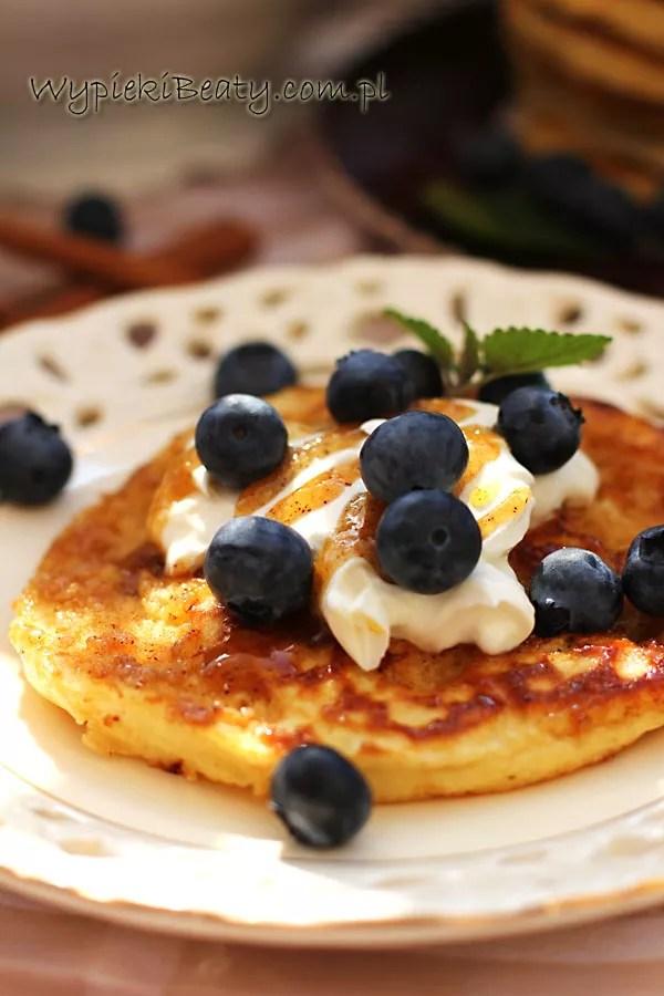 cynamonowe pancakes