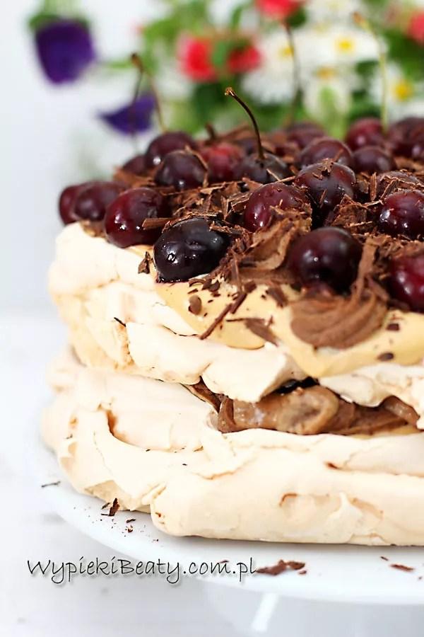 tort bezowy kawowo-karmelowy2