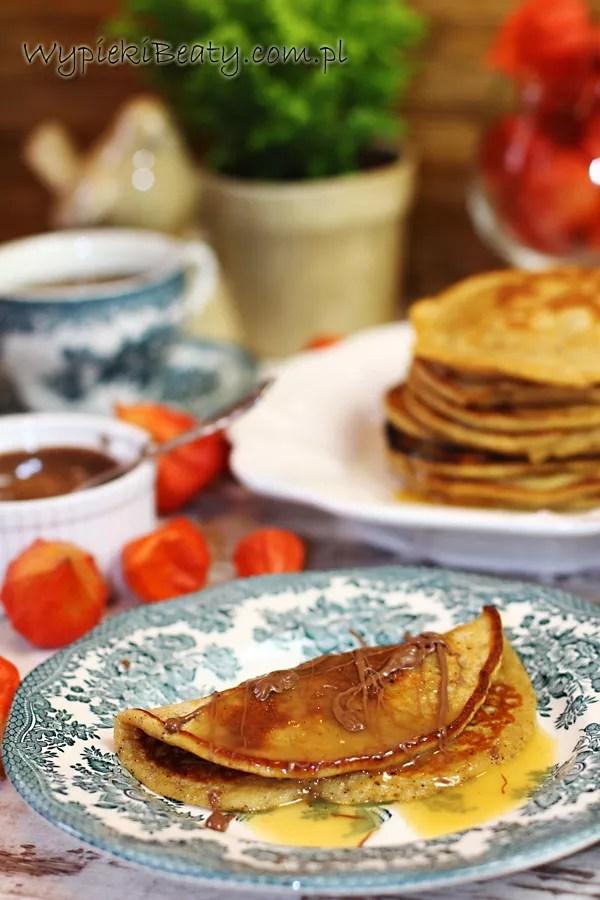 pancakes z dyni