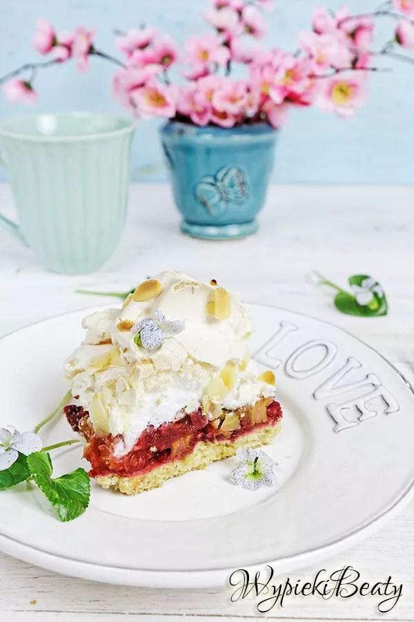 ciasto z rabarbarem i bezą_2