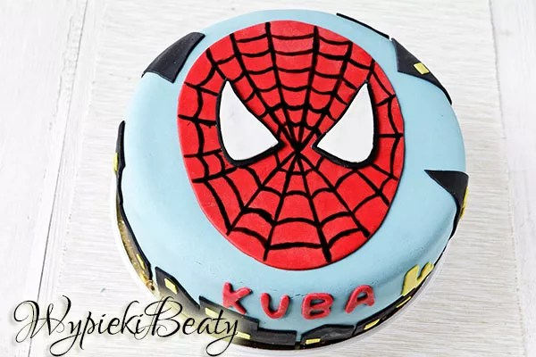tort spider-man cake inspiration