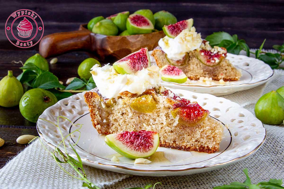 migdałowe ciasto z figami