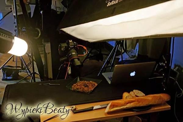 lampy w studiu