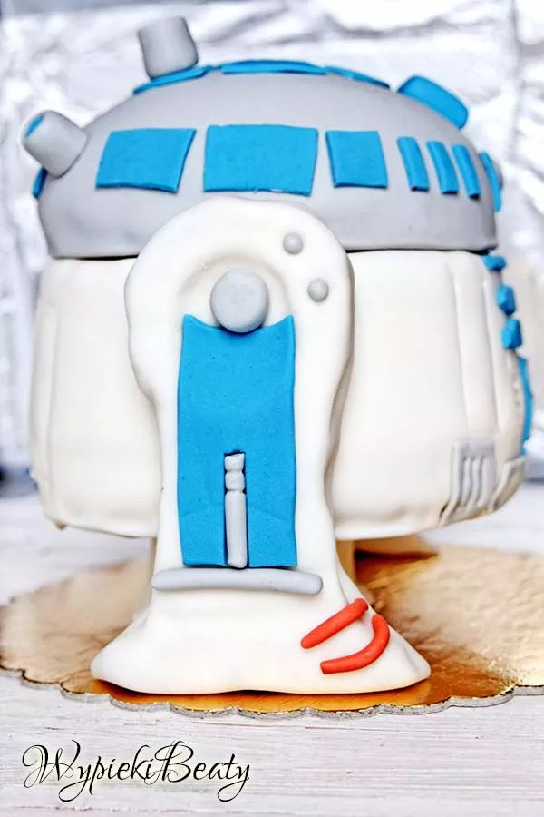 tort r2d2 cake star wars