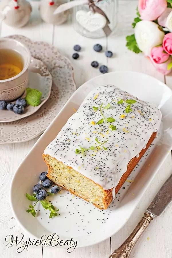 ciasto cytrynowe z makiem 1