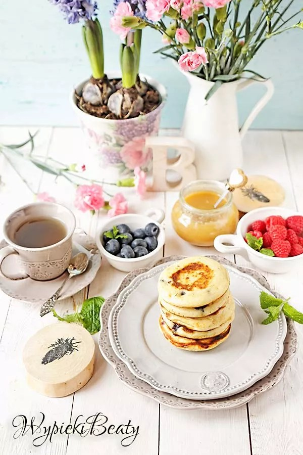 pancakes z borówkami 1
