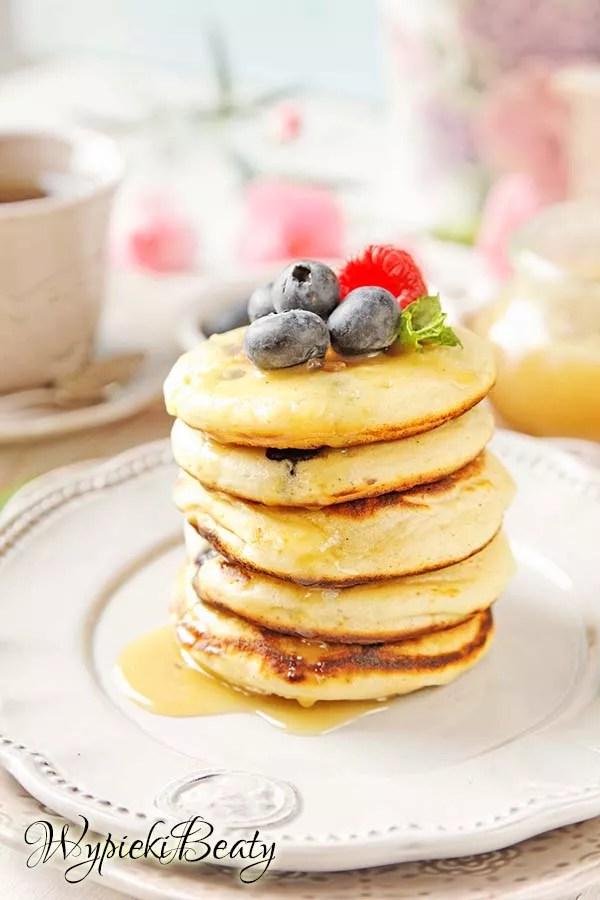 pancakes z borówkami 7