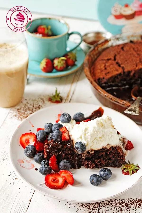 ciasto czekoladowe z sosem 10
